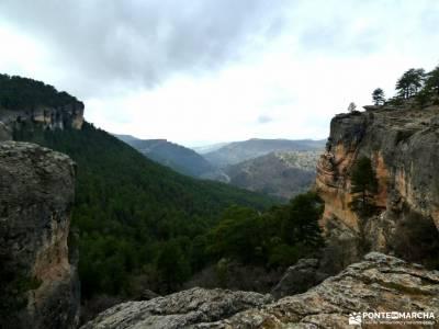 Nacimiento Río Cuervo;Las Majadas;Cuenca;almiruete monton de trigo piedra escrita ocentejo